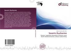 Portada del libro de Severin Ducharme