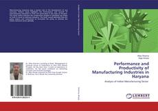 Performance and Productivity of Manufacturing Industries in Haryana kitap kapağı