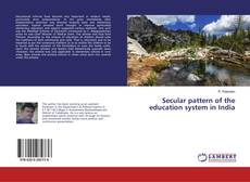 Bookcover of Secular pattern of the education system in India