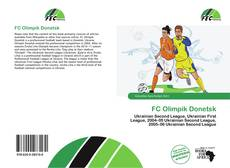 FC Olimpik Donetsk kitap kapağı
