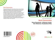 Capa do livro de Nick Cassavetes