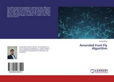Capa do livro de Amended Fruit Fly Algorithm