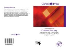 Bookcover of Common Battery