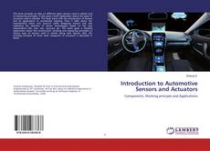 Buchcover von Introduction to Automotive Sensors and Actuators
