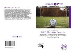 MFC Shakhtar Donetsk kitap kapağı