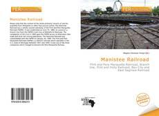 Manistee Railroad kitap kapağı