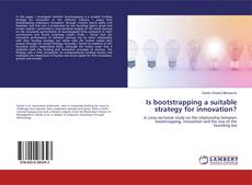 Bookcover of Is bootstrapping a suitable strategy for innovation?