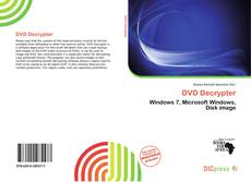 Bookcover of DVD Decrypter