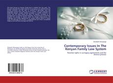 Copertina di Contemporary Issues In The Kenyan Family Law System