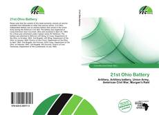 Bookcover of 21st Ohio Battery