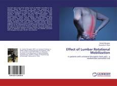 Copertina di Effect of Lumbar Rotational Mobilization
