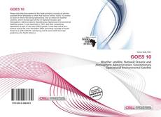 Bookcover of GOES 10
