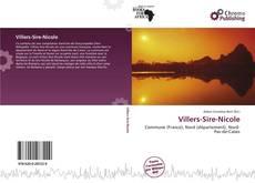 Bookcover of Villers-Sire-Nicole