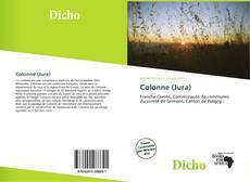 Buchcover von Colonne (Jura)