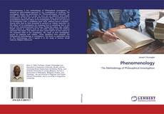 Bookcover of Phenomenology