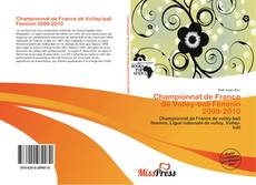 Bookcover of Championnat de France de Volley-ball Féminin 2009-2010