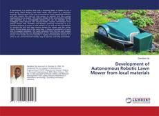 Capa do livro de Development of Autonomous Robotic Lawn Mower from local materials