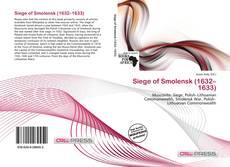 Bookcover of Siege of Smolensk (1632–1633)