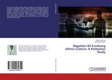 Bookcover of Negation Of Enrekang Ethnic Culture: A Politeness Study