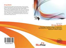 Bookcover of Greg Battle