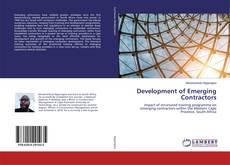 Buchcover von Development of Emerging Contractors