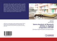 Bookcover of Genre Analysis of Research Articles in Applied Linguistics and ESP
