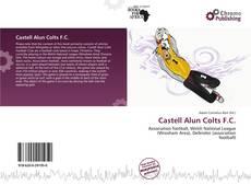 Capa do livro de Castell Alun Colts F.C.