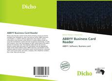 Bookcover of ABBYY Business Card Reader