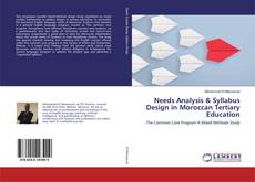 Buchcover von Needs Analysis & Syllabus Design in Moroccan Tertiary Education