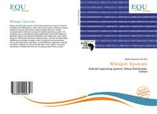 Bookcover of Whisper Systems