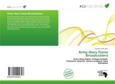 Capa do livro de Army–Navy Game Broadcasters