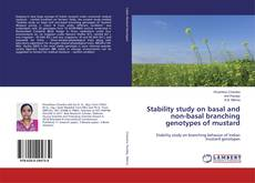 Buchcover von Stability study on basal and non-basal branching genotypes of mustard