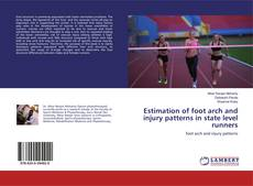 Portada del libro de Estimation of foot arch and injury patterns in state level runners