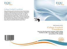 Buchcover von College Football Countdown