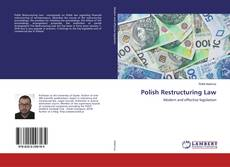 Polish Restructuring Law kitap kapağı