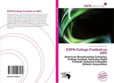 Bookcover of ESPN College Football on ABC