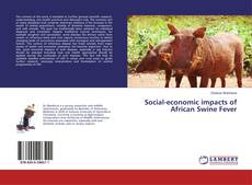 Bookcover of Social-economic impacts of African Swine Fever