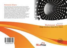 Richmond, Ontario kitap kapağı
