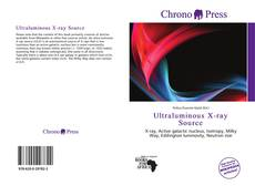 Bookcover of Ultraluminous X-ray Source