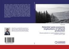 Capa do livro de Potential socio-economic implications of ethanol production
