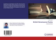 Bookcover of British Renaissance Poetry