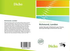 Bookcover of Richmond, London