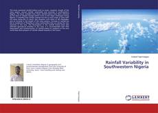 Bookcover of Rainfall Variability in Southwestern Nigeria