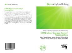 ESPN Major League Soccer Personalities的封面