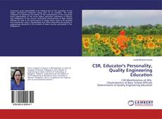 Bookcover of CSR, Educator's Personality, Quality Engineering Education