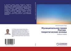 Муниципальное право России: теоретические основы kitap kapağı