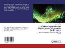 Bookcover of Differential geometry of Finsler Spaces with special (α, β) metric