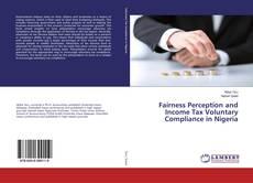 Capa do livro de Fairness Perception and Income Tax Voluntary Compliance in Nigeria