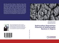 Bookcover of Hydrocarbon Degradation Potential of Heterotrophic Bacteria in Nigeria