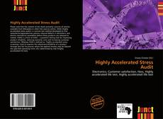 Bookcover of Highly Accelerated Stress Audit